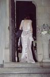 Kelly McQueeney made her Vogue gown - stunning