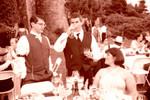 Joe and Skippy sip absinthes