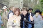 Ren & Linda toasting